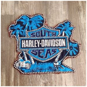 Harley Davidson South Seas Studded Tropical Patch